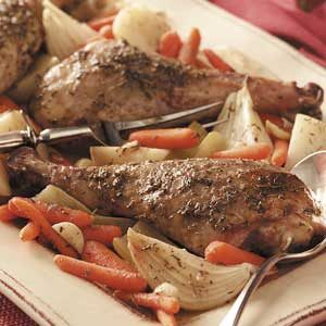Turkey Leg Pot Roast Recipe