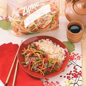Marinated Beef Stir-Fry Recipe