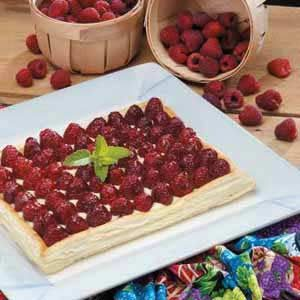 Elegant Raspberry Dessert Recipe