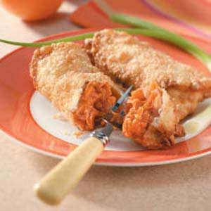 Barbecued Chicken Egg Rolls