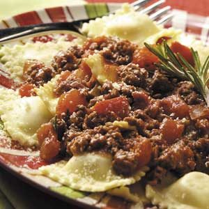 Beef Ragu with Ravioli Recipe