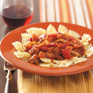 Chunky Pasta Sauce Recipe
