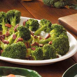 Lemon-Scented Broccoli Recipe