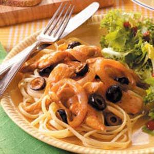 Honey-Orange Chicken and Pasta Recipe