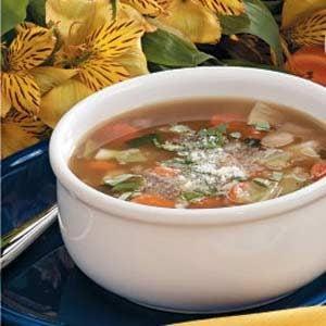Bean Cabbage Soup Recipe