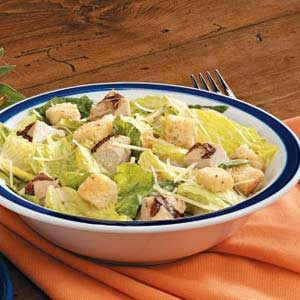 Simple Grilled Chicken Caesar Salad Recipe
