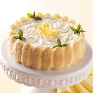 Lemon Ladyfinger Dessert Recipe