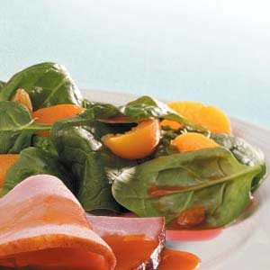 Apricot Spinach Salad Recipe