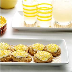 Frosted Pineapple Cookies Recipe
