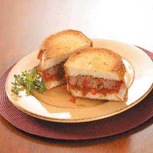 Italian Meat Loaf Sandwiches Recipe
