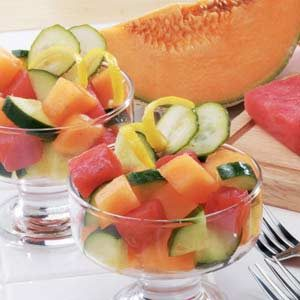 Cucumber Melon Salad Recipe