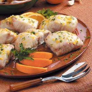 Red Snapper with Orange Sauce Recipe