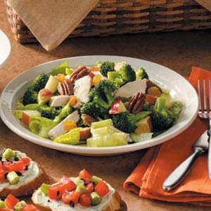 Chicken Broccoli Toss Recipe