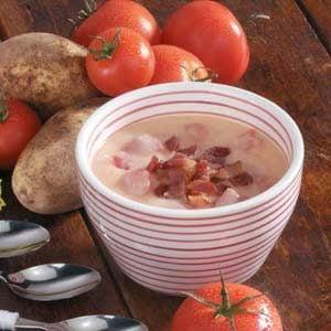 Bacon Tomato Chowder Recipe