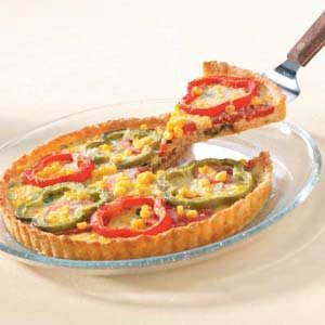 Harvest Vegetable Tart Recipe