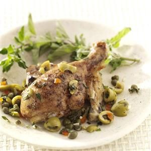 Oregano Olive Chicken Recipe