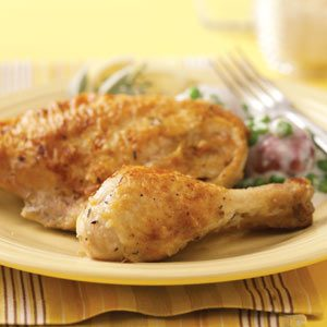 Fried Chicken with Pan Gravy Recipe