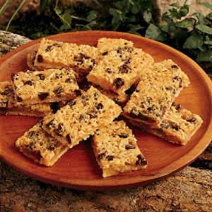 Chewy Peanut Butter Bars Recipe