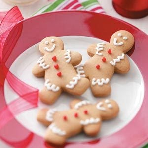 Gingerbread Boy Cookies Recipe