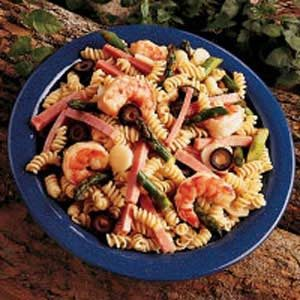 Hot Asparagus Pasta Salad Recipe