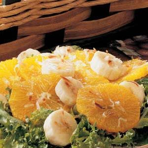 Banana Orange Salad Recipe