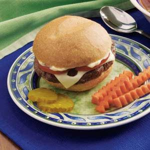 Bacon Swiss Burgers Recipe