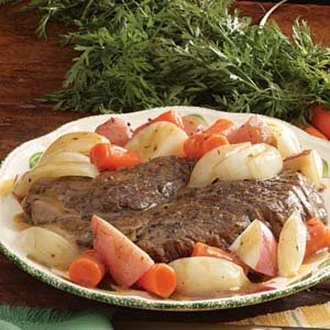 Sweet and Sour Pot Roast for Two Recipe