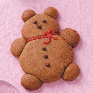 Gingerbread Teddy Bears Recipe