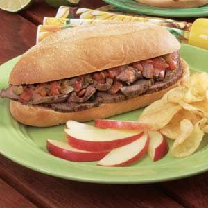Texas-Style Steak Sandwiches Recipe