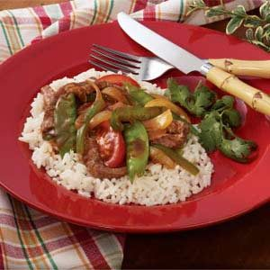 Flash-In-The-Pan Pepper Steak Recipe