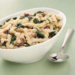 Spinach-Pine Nut Pasta Recipe