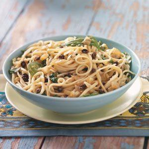 Onion Trio Pasta Recipe