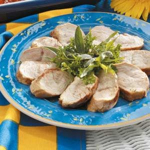 Grilled Tarragon Mustard Turkey Recipe