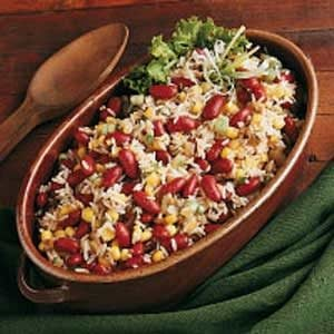 Southwestern Rice and Bean Salad Recipe