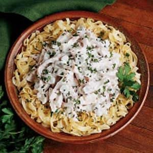 Company Ham and Noodles Recipe