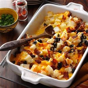 Bacon Cheese Potatoes Recipe