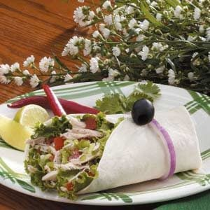Lime Jalapeno Turkey Wraps Recipe