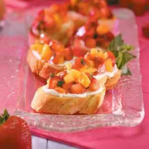 Berry Bruschetta Recipe