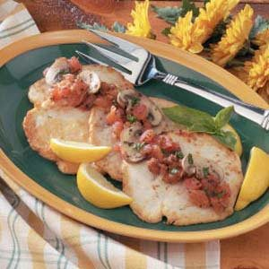 Turkey Cutlets with Tomato Sauce Recipe