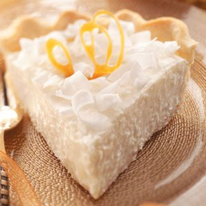 Coconut Chiffon Pie Recipe