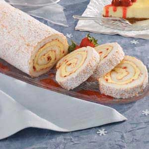 Luscious Lemon Angel Roll Recipe