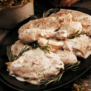 Creamy Nutmeg Chicken Recipe