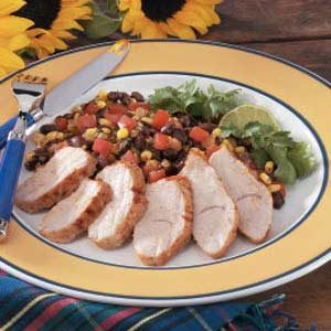 Spicy Turkey Tenderloin Recipe