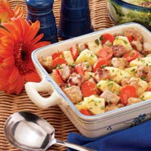 Dijon Pork Ragout