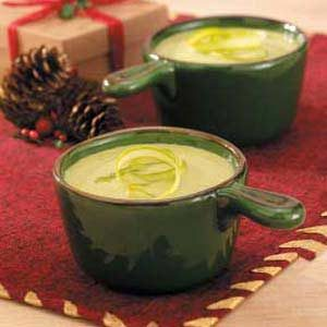 Cheesy Cream of Asparagus Soup Recipe