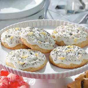 Lemon Poppy Seed Cookies Recipe photo by Taste of Home