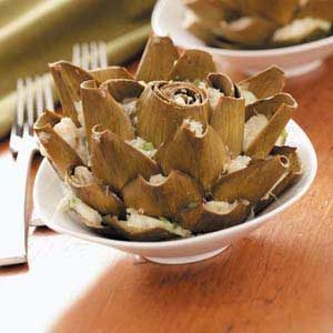 Crab-Stuffed Artichokes Recipe