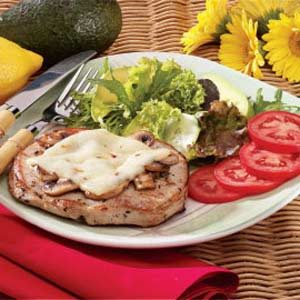 Smothered Pork Chop