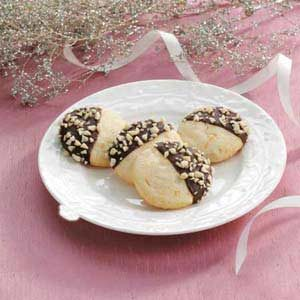 Chocolate-Dipped Orange Cookies Recipe