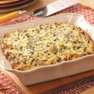 Greek Spinach Bake Recipe